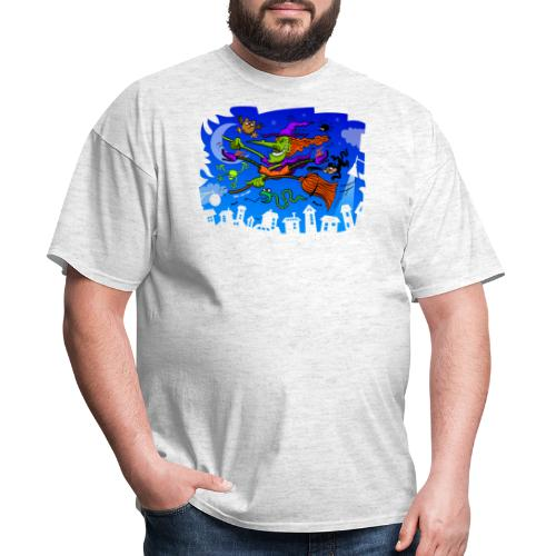 Crazy Witch - Men's T-Shirt