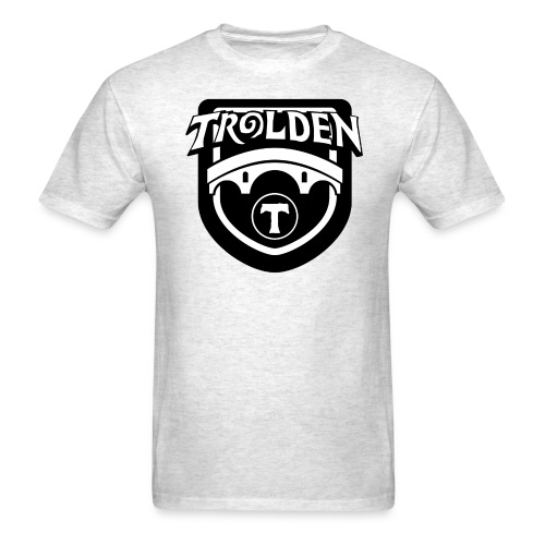 Black And White Logo - Men's T-Shirt
