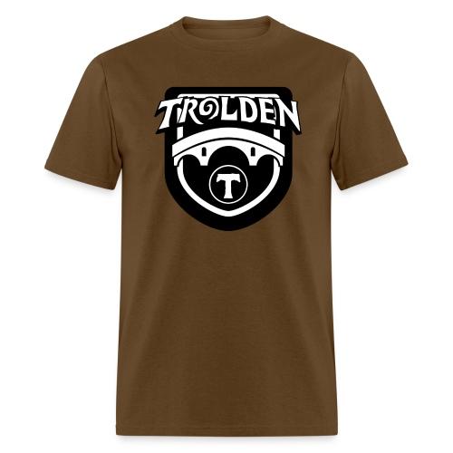 Black And White Logo - Men's T-Shirt