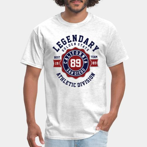 legendary athletic division - Men's T-Shirt