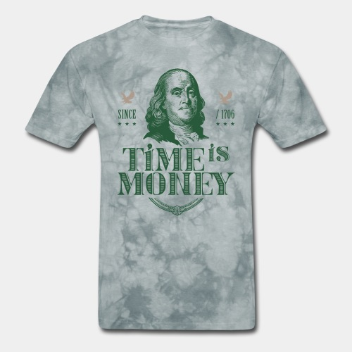 time is money - Men's T-Shirt