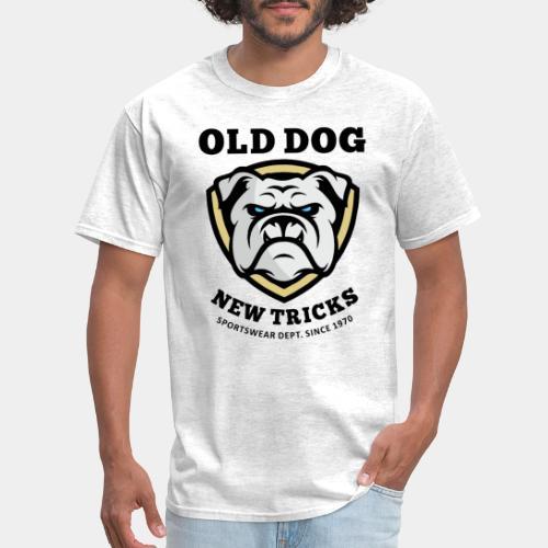 old dog new tricks - Men's T-Shirt