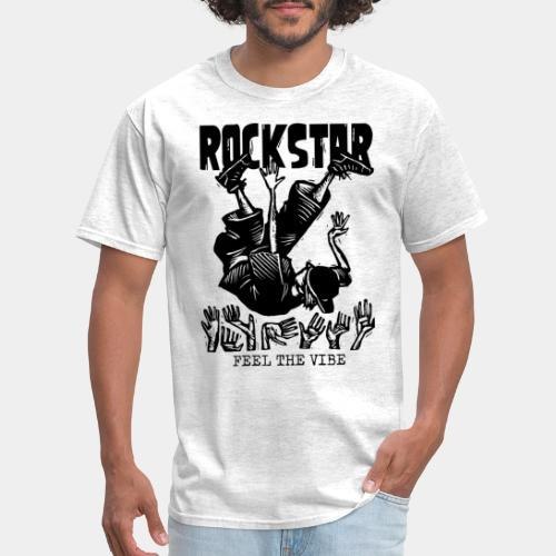 rockstar rock star - Men's T-Shirt