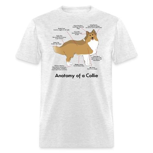 Anatomy of a Collie - Men's T-Shirt