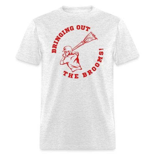MLB Sweeps Logo (Front and Back) - Men's T-Shirt