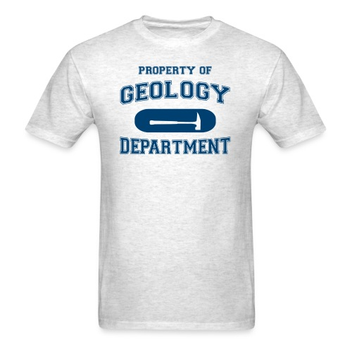 property of geology - Men's T-Shirt