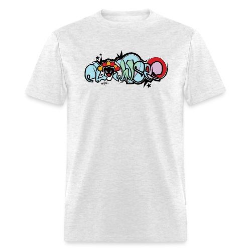 clownsec graffiti2 gif - Men's T-Shirt