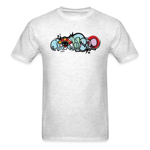 clownsec graffiti2 gif - Men's T-Shirt
