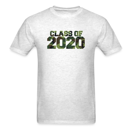Class of 2020 Camo grad logo - Men's T-Shirt