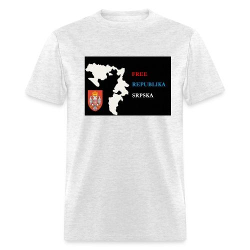 republika srpska free - Men's T-Shirt