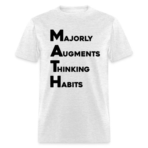 MATH Stands for - Men's T-Shirt