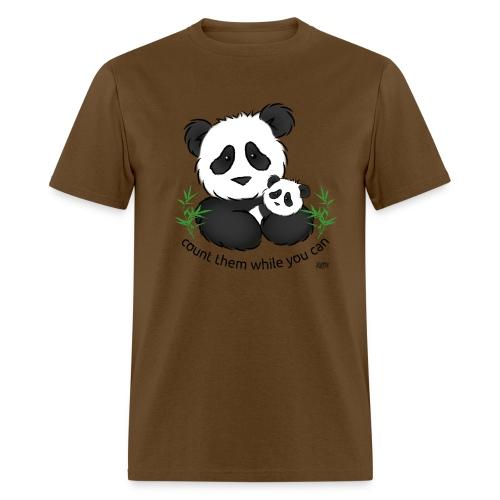 SnuggleCoats_panda - Men's T-Shirt