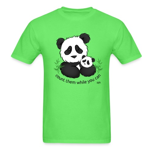 SnuggleCoats_panda - Men's T-Shirt