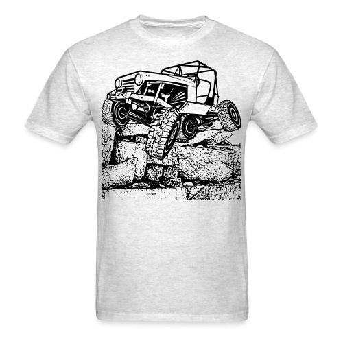 Off Road Rock Crawling - Men's T-Shirt