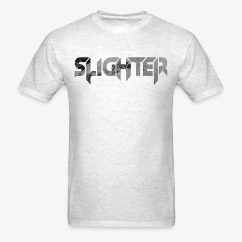 Slighter Line Glitch Logo - Men's T-Shirt