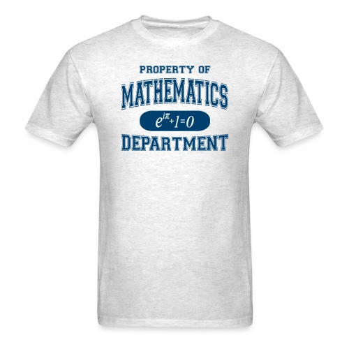 property of math - Men's T-Shirt