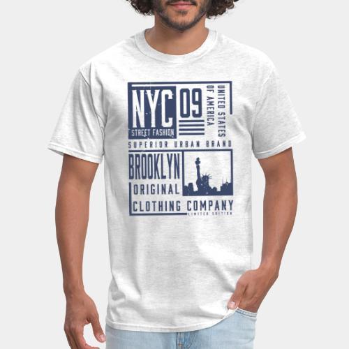 brooklyn new york - Men's T-Shirt