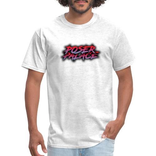 Poser Palace Text - Men's T-Shirt