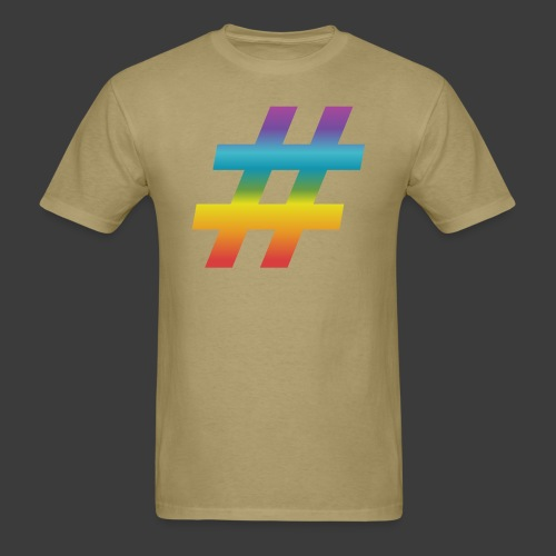 Rainbow Include Hash - Men's T-Shirt
