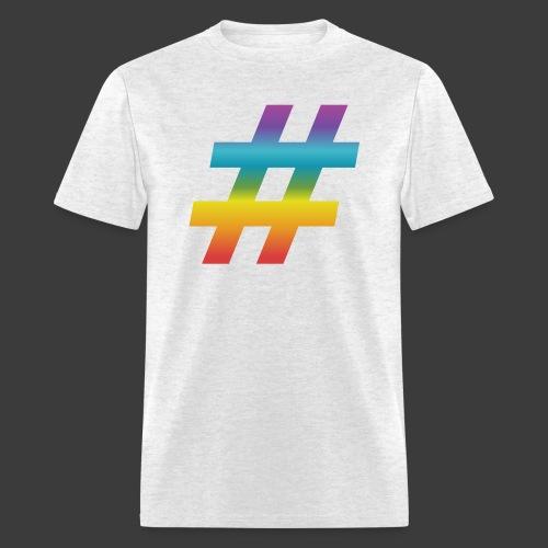 Rainbow Include Hash - Men's T-Shirt