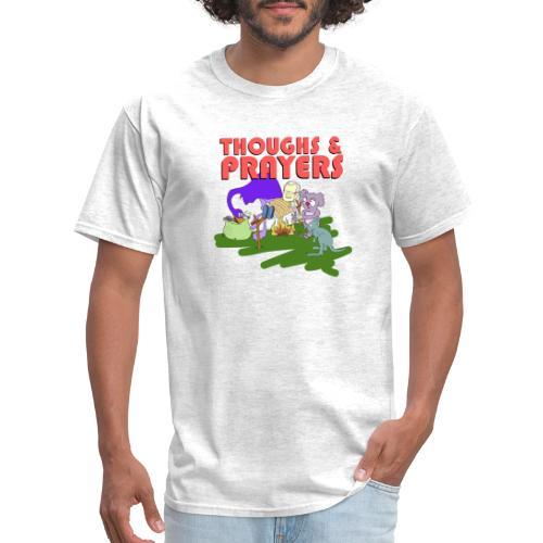 Thoughts & Prayers - Men's T-Shirt