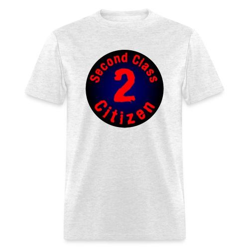 2nd Class Citizen Logo (Dark) - Men's T-Shirt