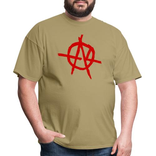 Anarchy (Red) - Men's T-Shirt