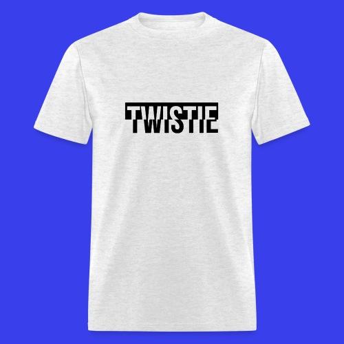 Inverted Twistie Logo Black - Men's T-Shirt