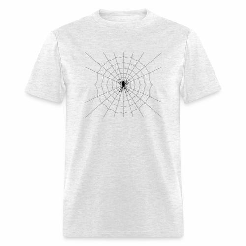 Black Widow on Web - Men's T-Shirt