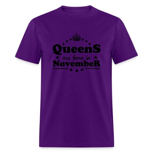 Queens are born in November - Men's T-Shirt