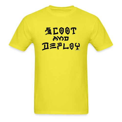 Scoot and Deploy - Men's T-Shirt