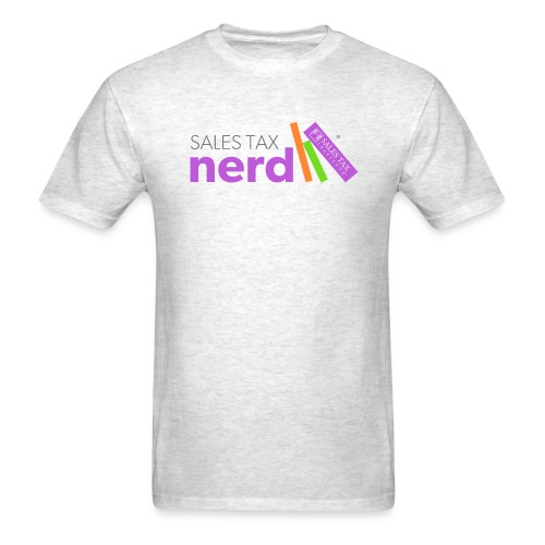 Sales Tax Nerd - Men's T-Shirt
