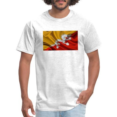 Bhutan Flag - Men's T-Shirt