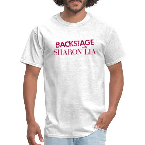 Backstage With Sharon Lia - Red - Men's T-Shirt