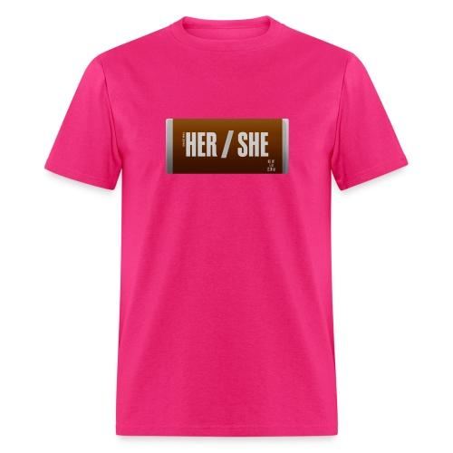 Her/She Bar! - Men's T-Shirt