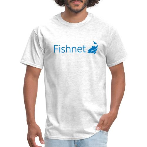 Fishnet (Blue) - Men's T-Shirt