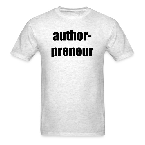 Author-preneur - Men's T-Shirt