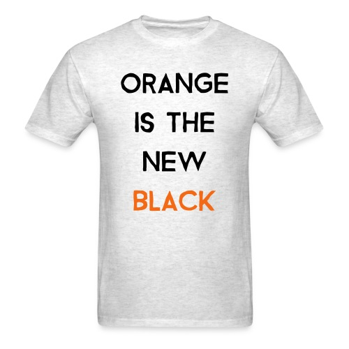 (orange2) - Men's T-Shirt