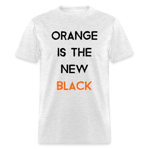 (orange2) - Men's T-Shirt