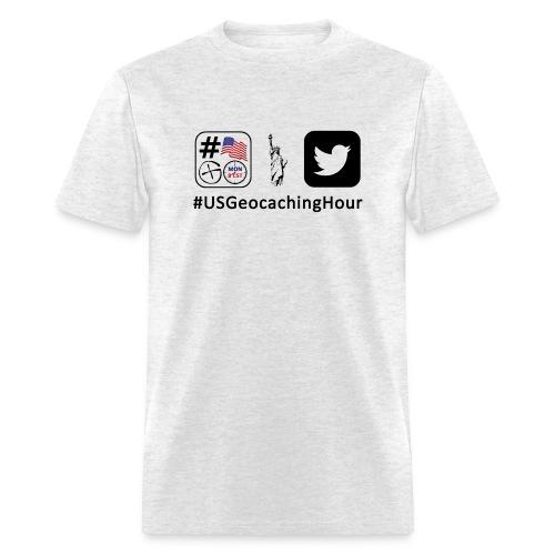 USGeocachingHour - Men's T-Shirt