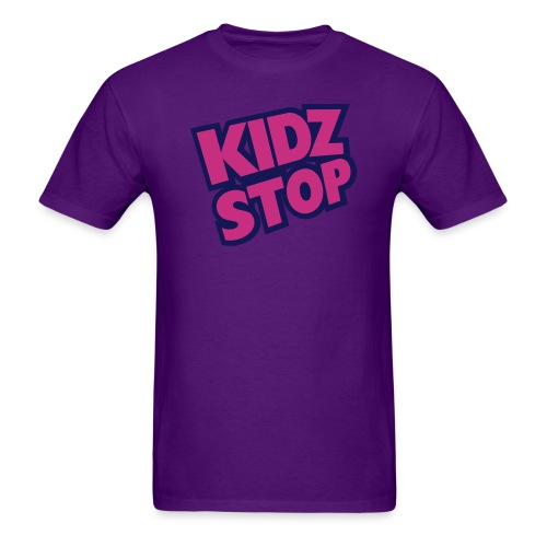 kidz stop 2color - Men's T-Shirt