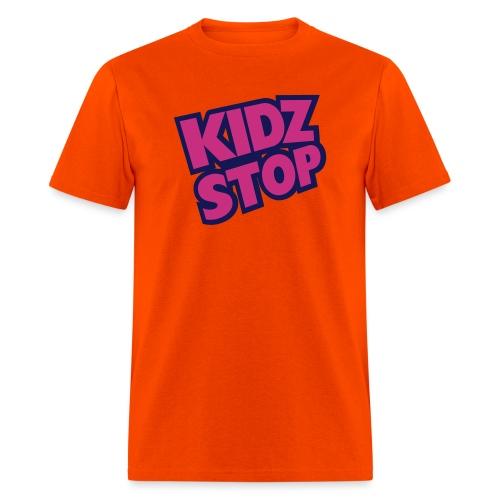 kidz stop 2color - Men's T-Shirt
