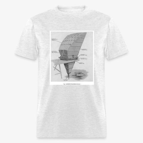 Horn Antenna Diagram - Men's T-Shirt