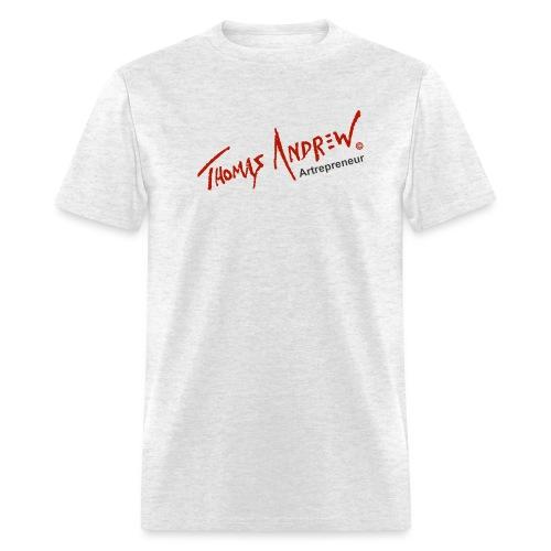 Thomas Andrew Artrepreneur - Men's T-Shirt