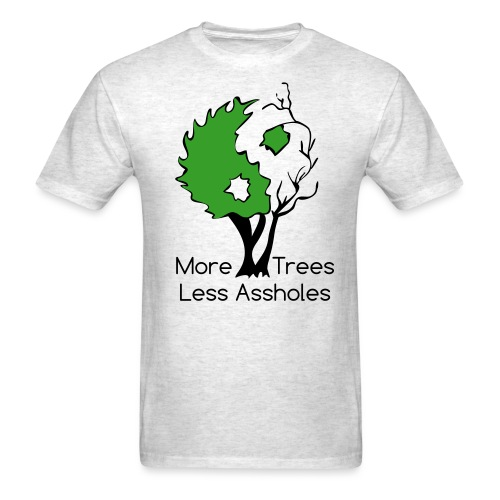 in tree col text - Men's T-Shirt