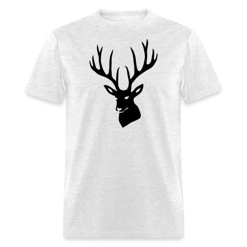 stag night deer buck antler hart cervine elk - Men's T-Shirt