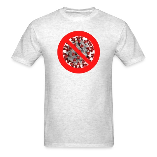 Coronavirus No Symbol - Men's T-Shirt