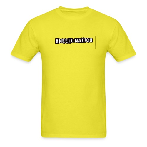 kneelo nation logo png - Men's T-Shirt