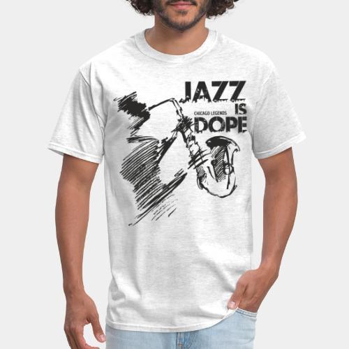 jazz music - Men's T-Shirt