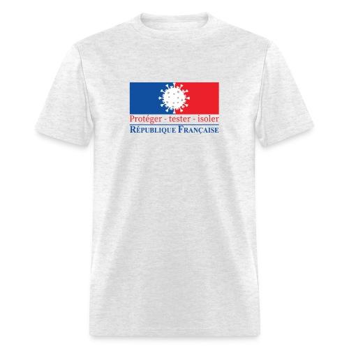 Protéger tester isoler - Men's T-Shirt